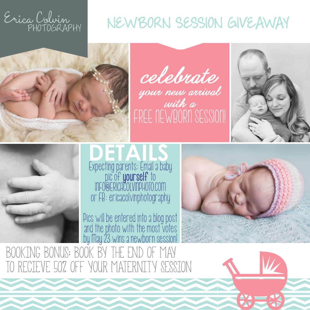 Contest free newborn session erica colvin photography to enter for a free newborn session heres what you need to do solutioingenieria Image collections
