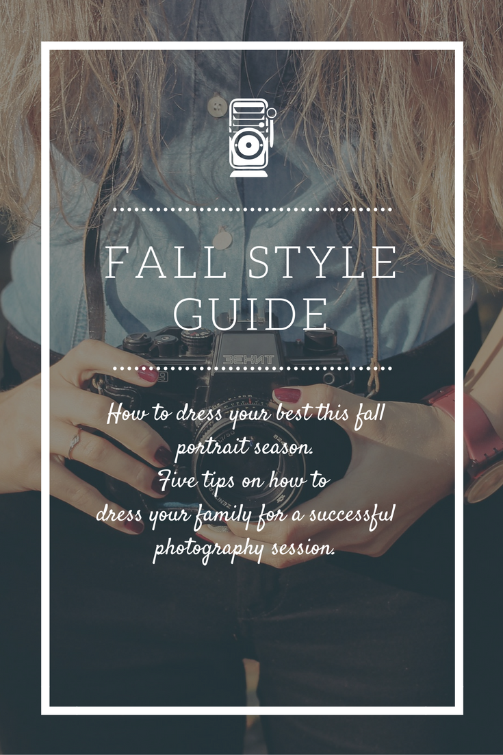 Mongtomery County Photographer Fall Style Guide What to Wear this fall for family portraits